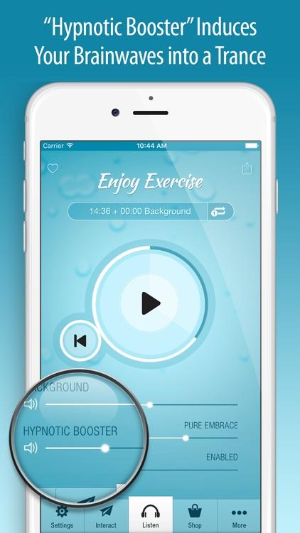 Enjoy Exercise Hypnosis PRO screenshot-3