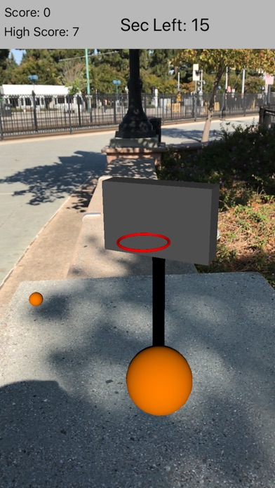 AR BBall Screenshot 2