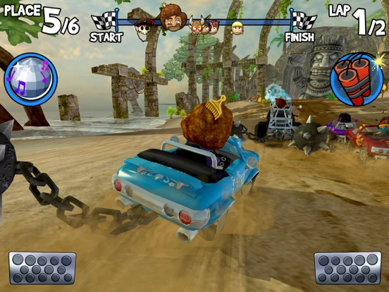 Скачать игру Beach Buggy Racing