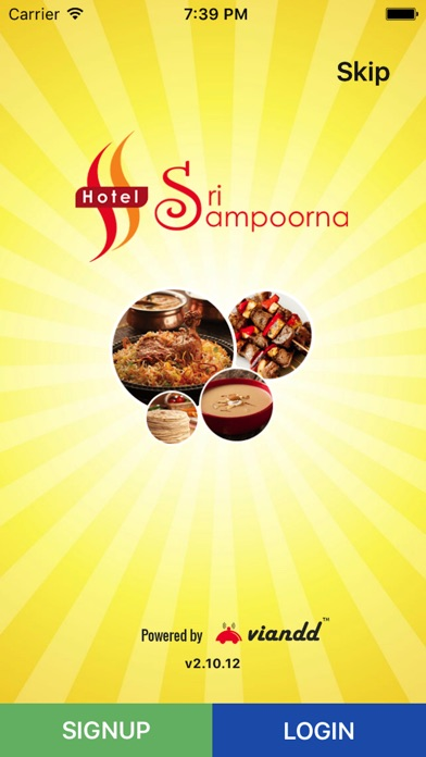Image of Sri Sampoorna Hotel for iPhone