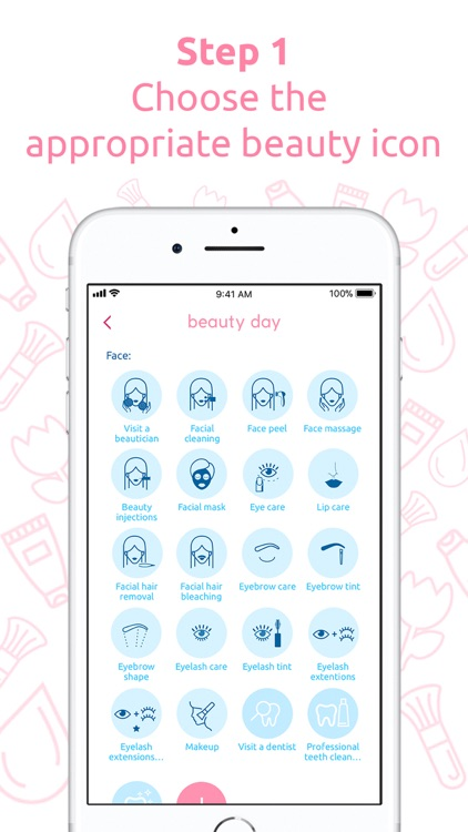 Beauty day planner