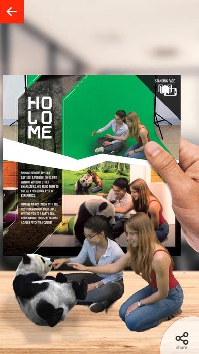 Shindig Studio AR Brochure screenshot two