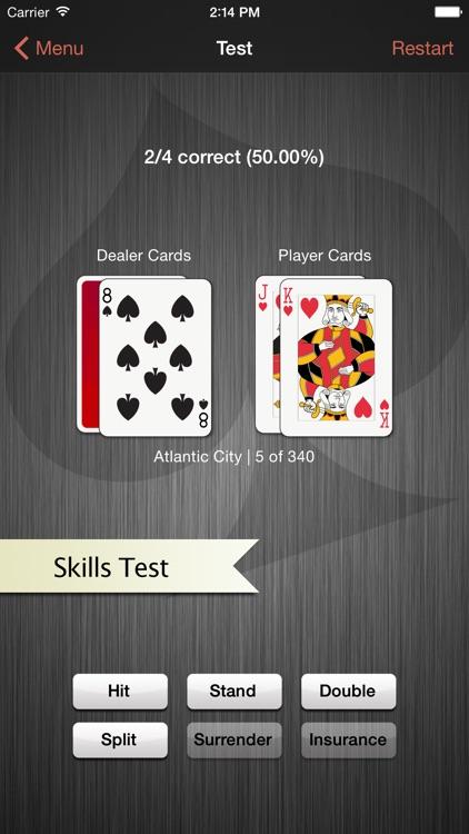 Blackjack Trainer - Casino Strategy and Practice screenshot-3