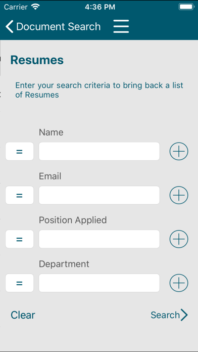 OnBase Mobile 17 for iPhone screenshot two