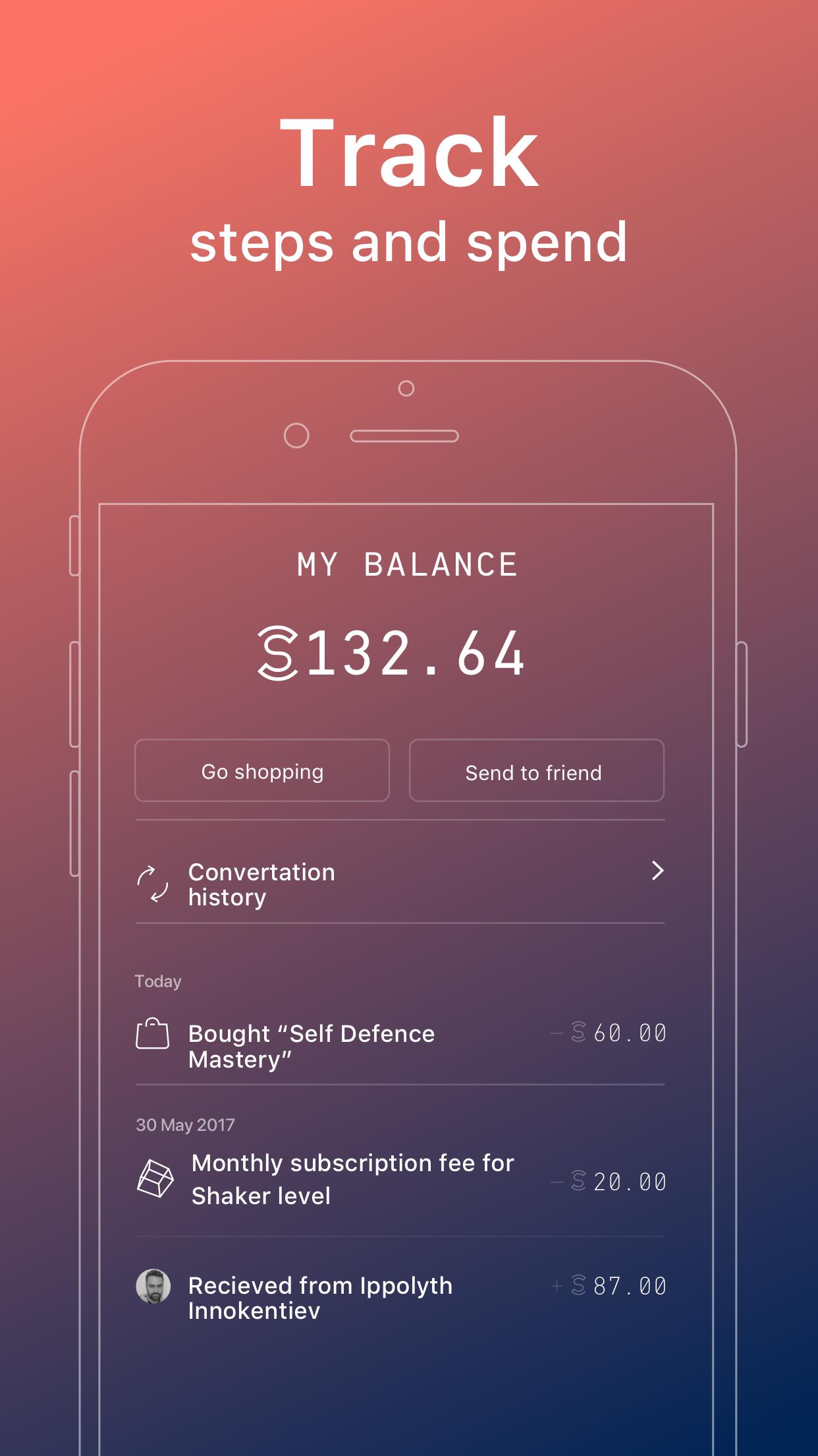 Sweatcoin - Sweat for Coin Screenshot