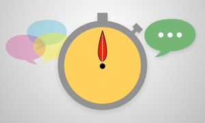 Talking Stick : Conversation Timer and Moderator
