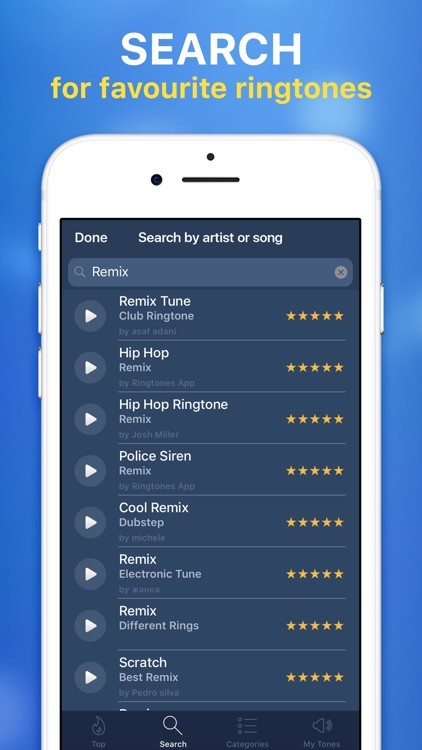Ringtones for iPhone & Maker