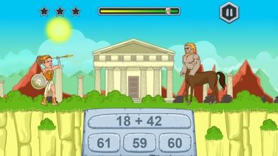 수학 게임 재미 게임 그리스 신화 for Windows
