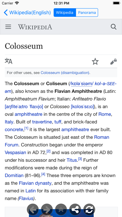 GeoSearch for Wikipedia screenshot four