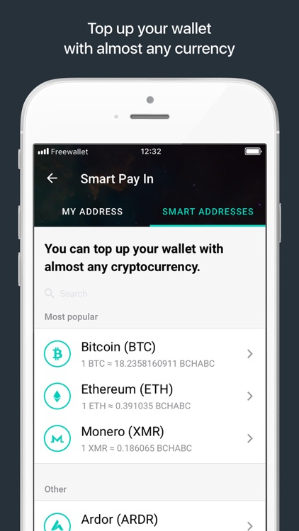 Bitcoin Cash ABC Wallet screenshot-3