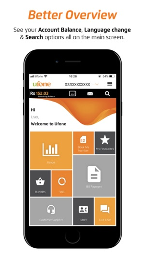 My Ufone on the App Store