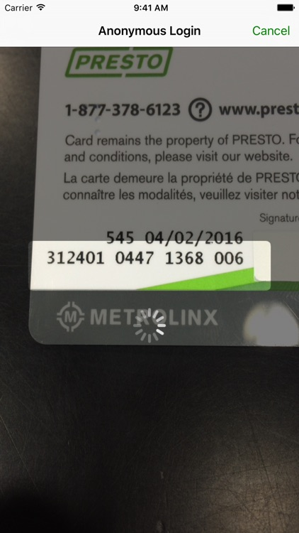 Pronto Checker for PRESTO Card