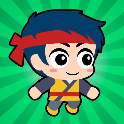 Download Super Ninja Boy Run free for iPhone, iPod and iPad