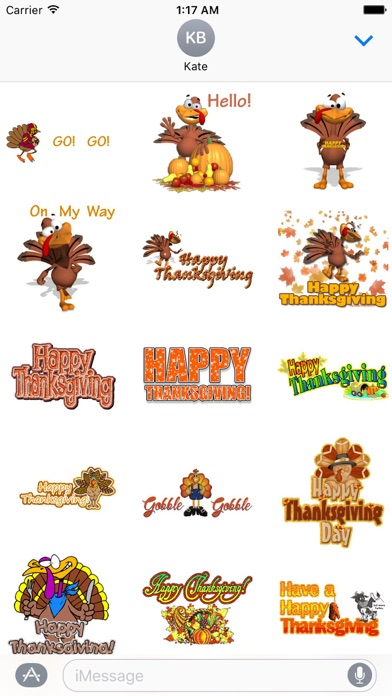 Animated Thanksgiving Day screenshot 1