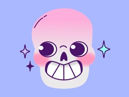 I hope these skull stickers are humerus enough for you ;P