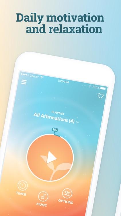 ThinkUp: Positive Affirmations screenshot-3
