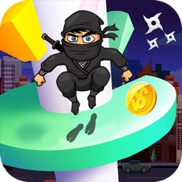 Ninja Helix Jump