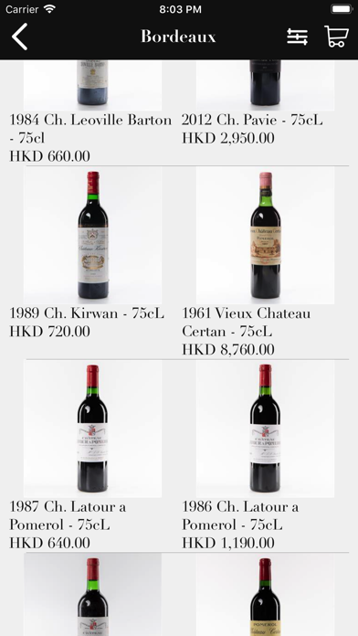 Victoria Wine Cellar HK screenshot three