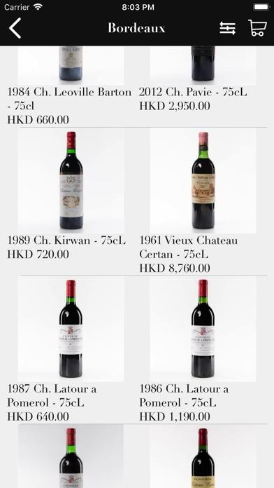 Victoria Wine Cellar HK screenshot three