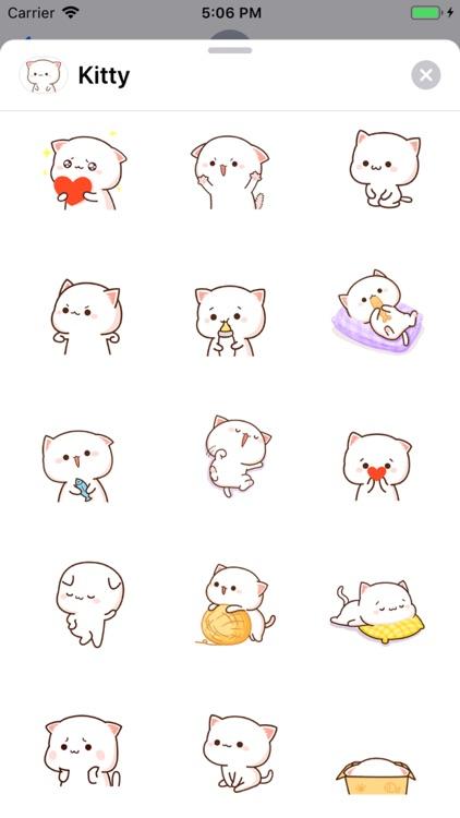 Kitty - Gif Cat Sticker Lovers screenshot-0