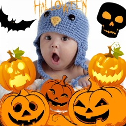 Halloween Frames + Stickers