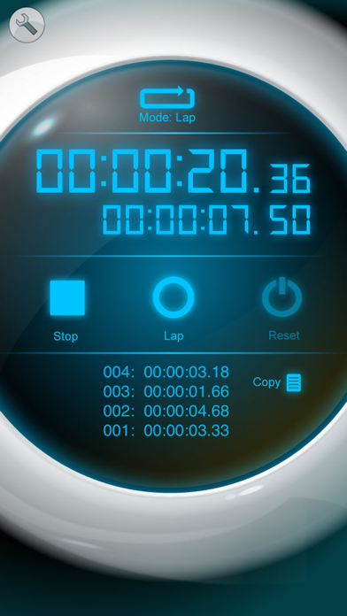 ストップウォッチ [Best Stopwatch] ScreenShot1