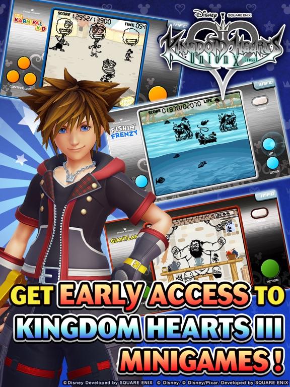 KINGDOM HEARTS Union χ[Cross] на iPad