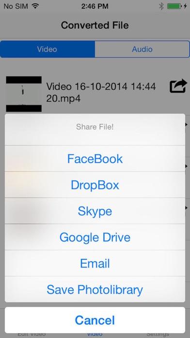 download فصل الصوت عن الفيديو apps 2