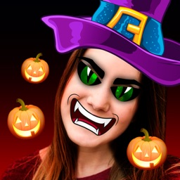 Halloween Stickers Face Editor