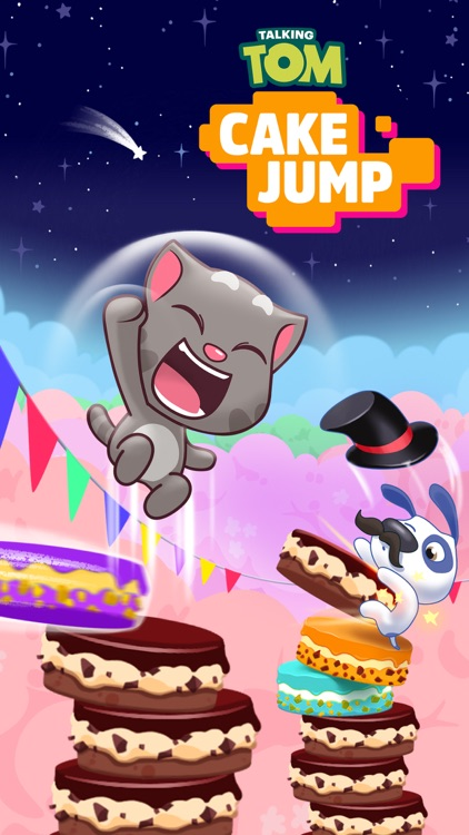 Talking Tom Cake Jump screenshot-5