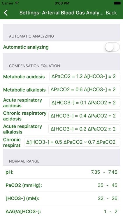 Arterial Blood Gas (Pro) screenshot-3