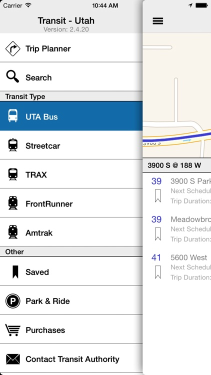Transit Tracker - Utah (UTA) screenshot-1
