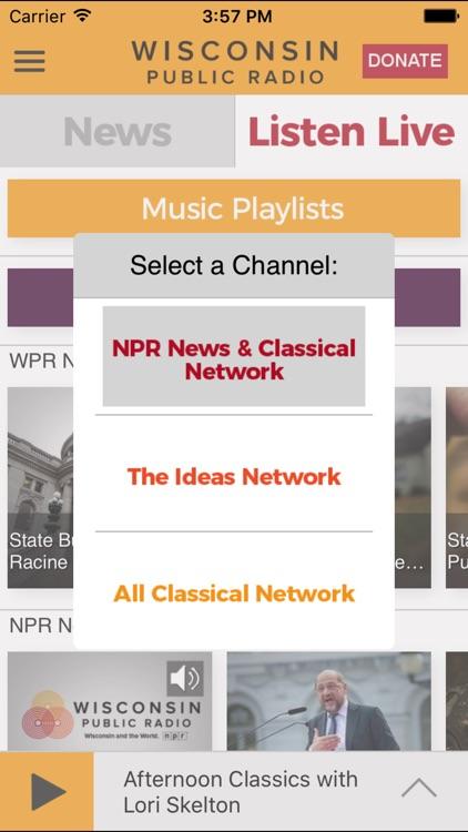 Wisconsin Public App for iPad screenshot-3
