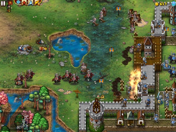 Fortress Under Siege for iPad screenshot-3