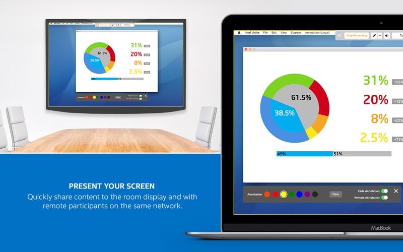 Intel Unite Screenshot