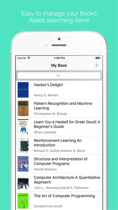 Booker - Book Manager screenshot one