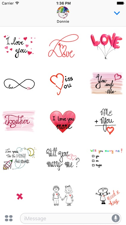 Ultimate Love Sticker Pack