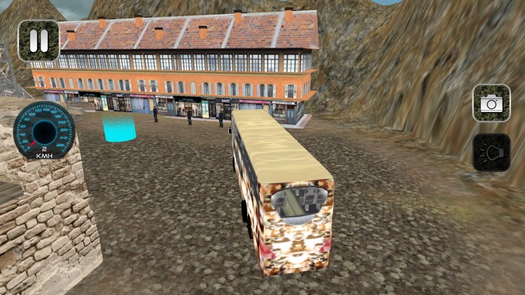 Army Coach Bus Simulator 18 screenshot-3