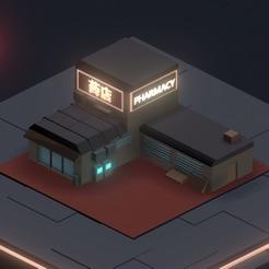 Neon District Pharmacy