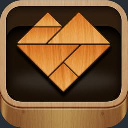 Ícone do app Complete Me - Tangram Puzzles