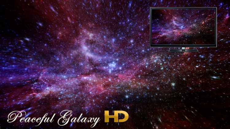Peaceful Galaxy HD screenshot-0
