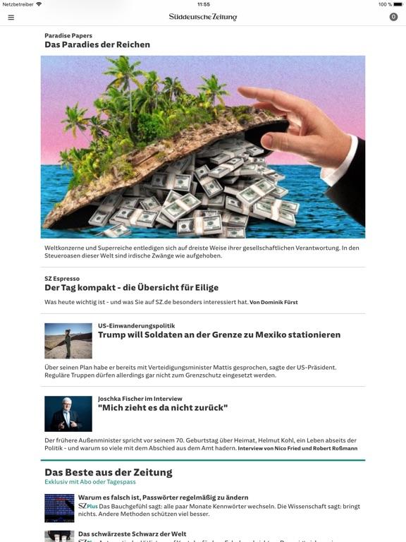 SZ.de Nachrichten SZ Скриншоты11