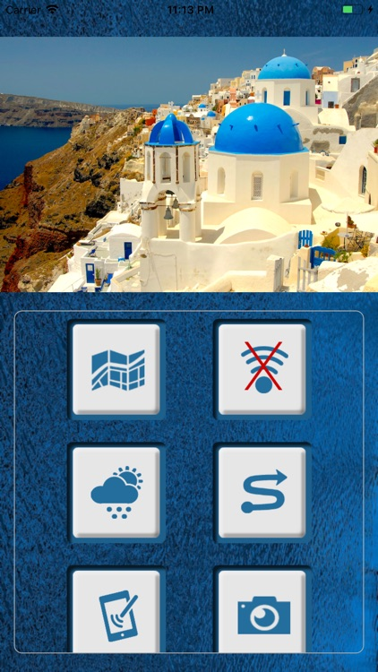 Santorini Travel Map Offline screenshot-1