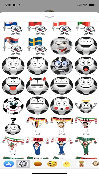 download Russia 2018 Soccer Stickers apps 0