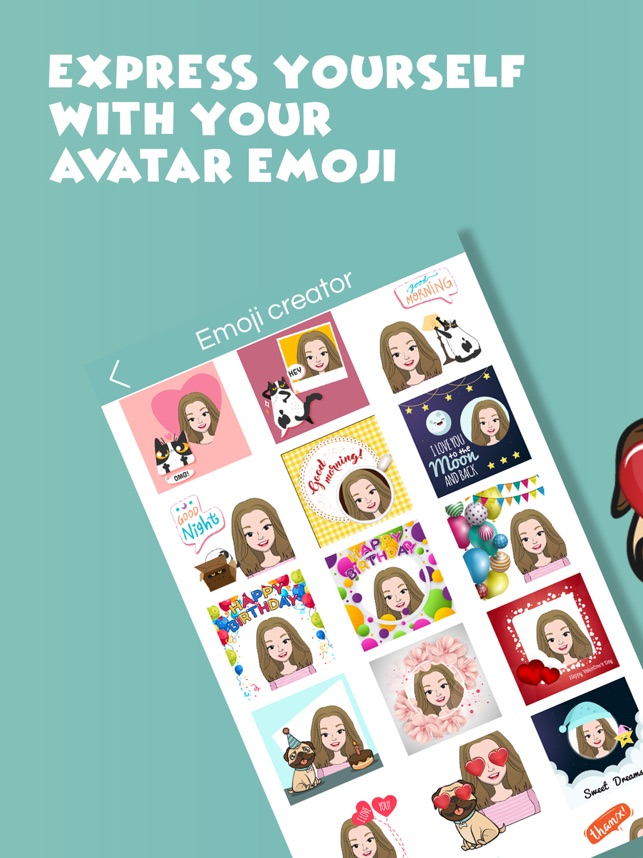 My Emoji Face - Avatar creator on the App Store