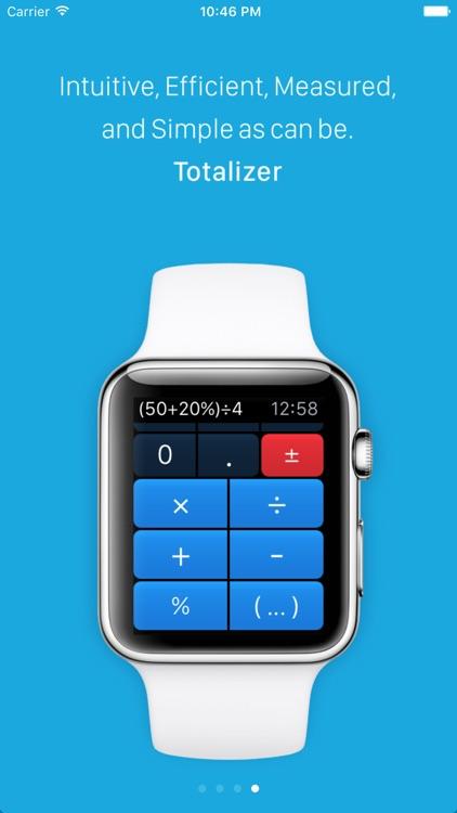 Totalizer - Watch Calculator