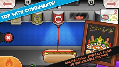 Papa's Hot Doggeria To Go! screenshot 3