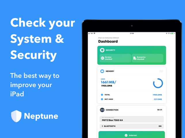 Neptune - Security & System Screenshot