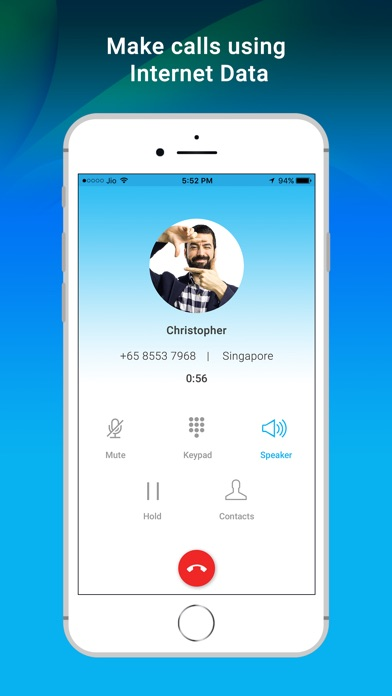 Saif Global - Cheap International VOIP Calls app image