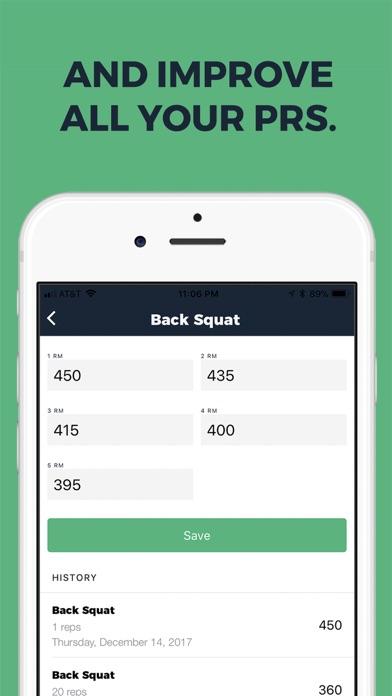 gym journal workout log